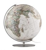 Räthgloben National Geographic Fusion 3703 Executive Globus Antik Design Handkaschiert 37cm Globe Earth World Tischglobus