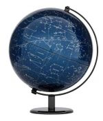 Globus 24cm LED Leuchtglobus Emform SE-936 MILKY WAY BLUE LIGHT Michstraße Stenenhimmel Globe Earth World
