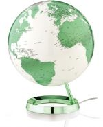Design-Leuchtglobus Atmosphere Light and Colour green 30cm Globus modern Globe Earth
